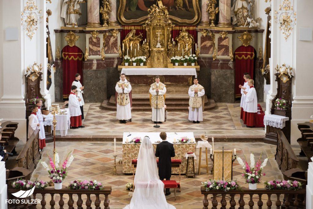 Hochzeit bei Münschen Kloster Scheflarn